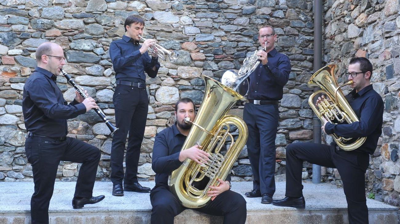 Benedetto Castelli, Stefano Piazza, Daniele Giovannini, Andrea Norghauer ed Emanuele Delucchi